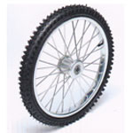 "20"" Pair Tires & Tubes Wheel Complete"