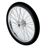 "20"" Pair Polyurethane, Complete Wheel 32 spoke"