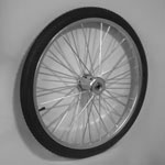 "26"" Pair Tires & Tubes, Complete Wheel 32 Spoke, 2 tires, 2 tubes and 2 rims"
