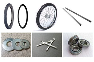 Garden, Yard & Utility Cart Parts and Wheels