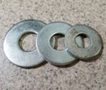 Washers for heavy duty cart axles